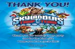 Personalised Skylander Trap Team Thank You Cards